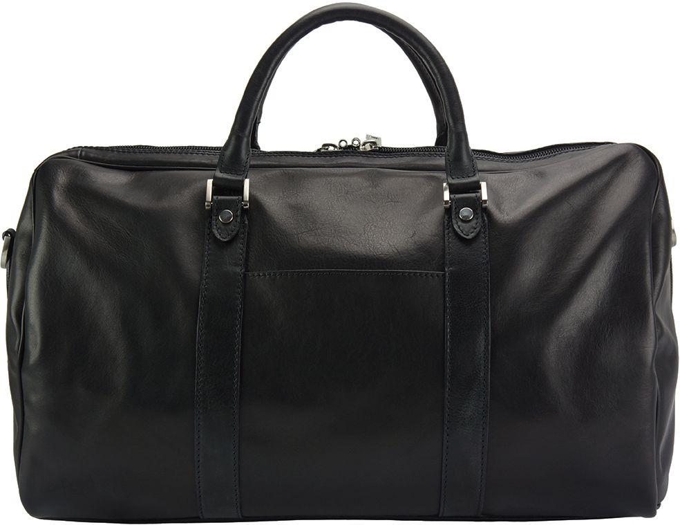 Δερμάτινο Σακ Βουαγιαζ Gosto Firenze Leather 7501 Μαύρο