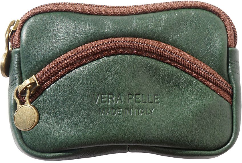 51d846d086 Δερματινο Πορτοφολι Κερματων Firenze Leather PM335 Σκουρο Πρασινο ...