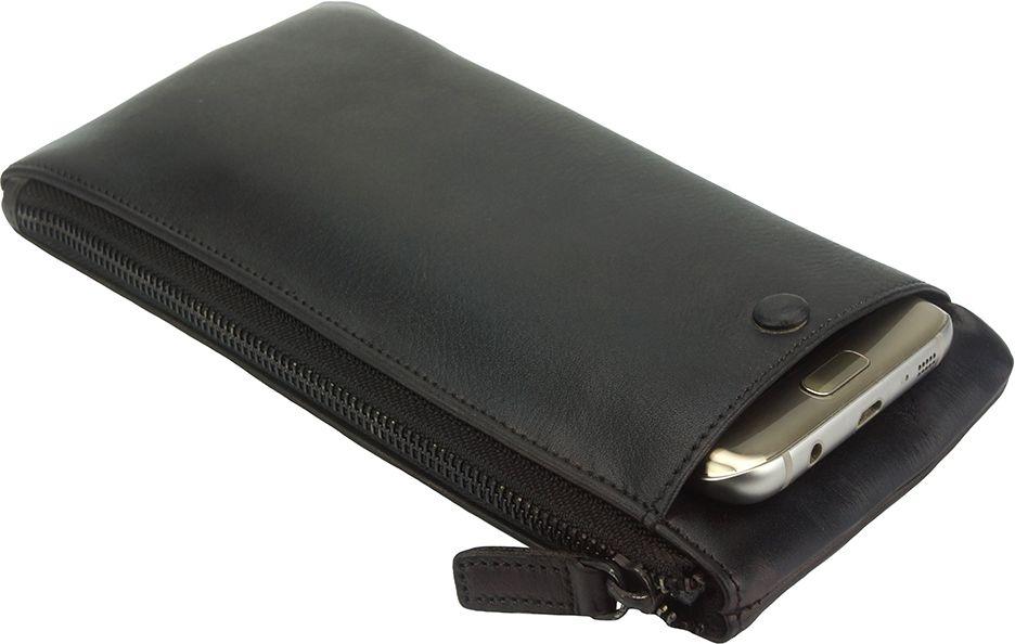 cd014da587 GrabitApp  Δερμάτινο Πορτοφόλι Adele Firenze Leather 51831 Μαύρο