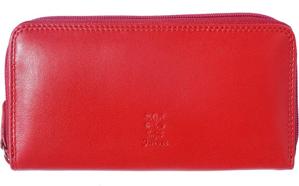 3409d2e095 Δερματινο Γυναικειο Πορτοφολι Firenze Leather PF086 Κόκκινο