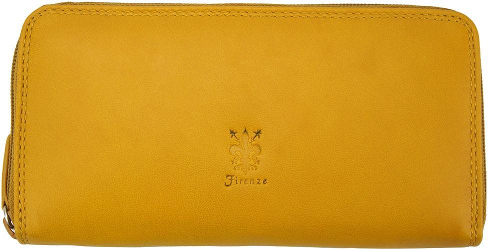 b3e7cf6200 Δερματινο Γυναικειο Πορτοφολι Firenze Leather PF086 Κιτρινο