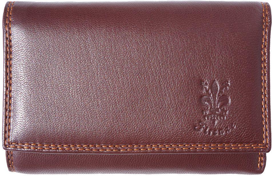 Δερμάτινο Πορτοφόλι Rina GM Firenze Leather PF074 Καφε γυναίκα   πορτοφόλια