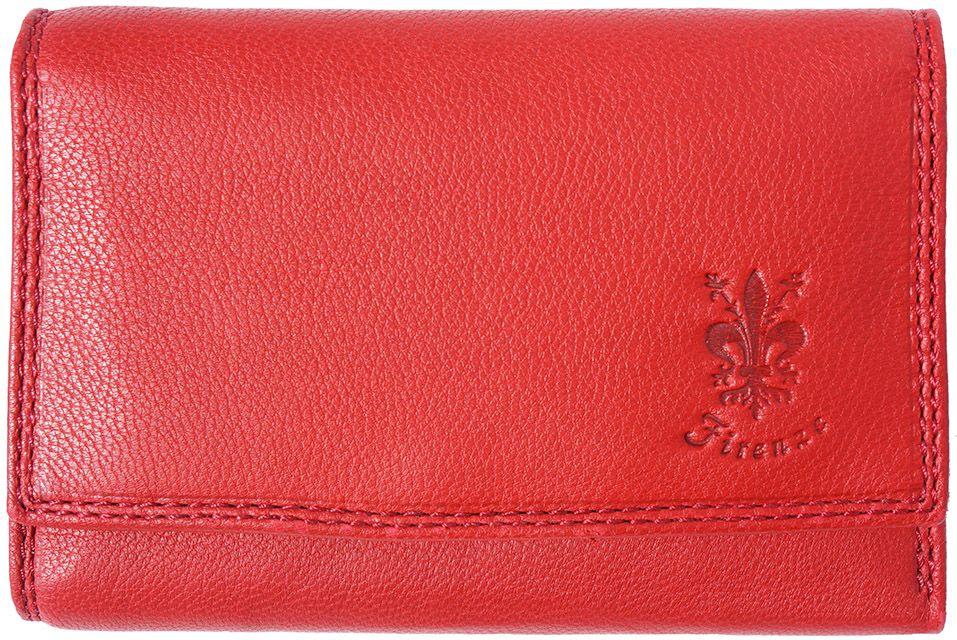 029cfe5c69 Δερμάτινο Πορτοφόλι Rina GM Firenze Leather PF074 Κόκκινο