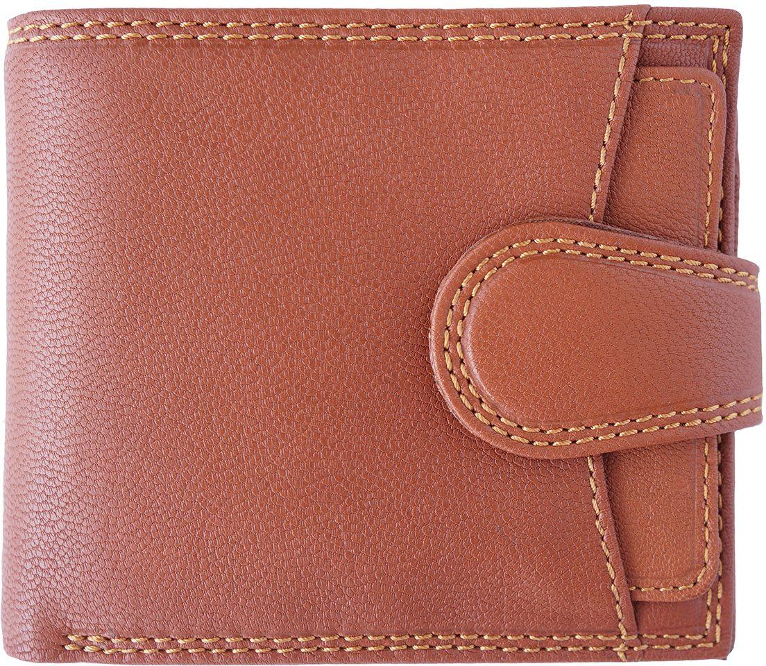 Δερμάτινο Πορτοφόλι Με Θήκη Νομισμάτων Firenze Leather PF085 Μπεζ ανδρας   πορτοφόλια