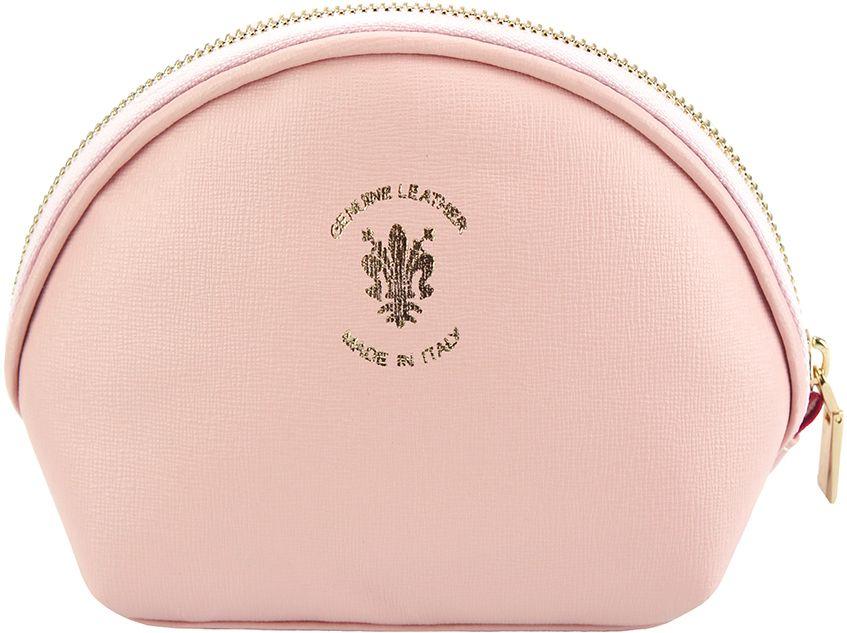Δερματινο Πορτοφολι Κερματων Firenze Leather PM336 Ροζ γυναίκα   πορτοφόλια