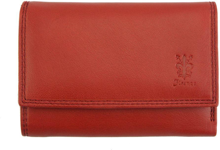 Δερμάτινο Πορτοφόλι Marta GM Firenze Leather PF074B Κόκκινο γυναίκα   πορτοφόλια