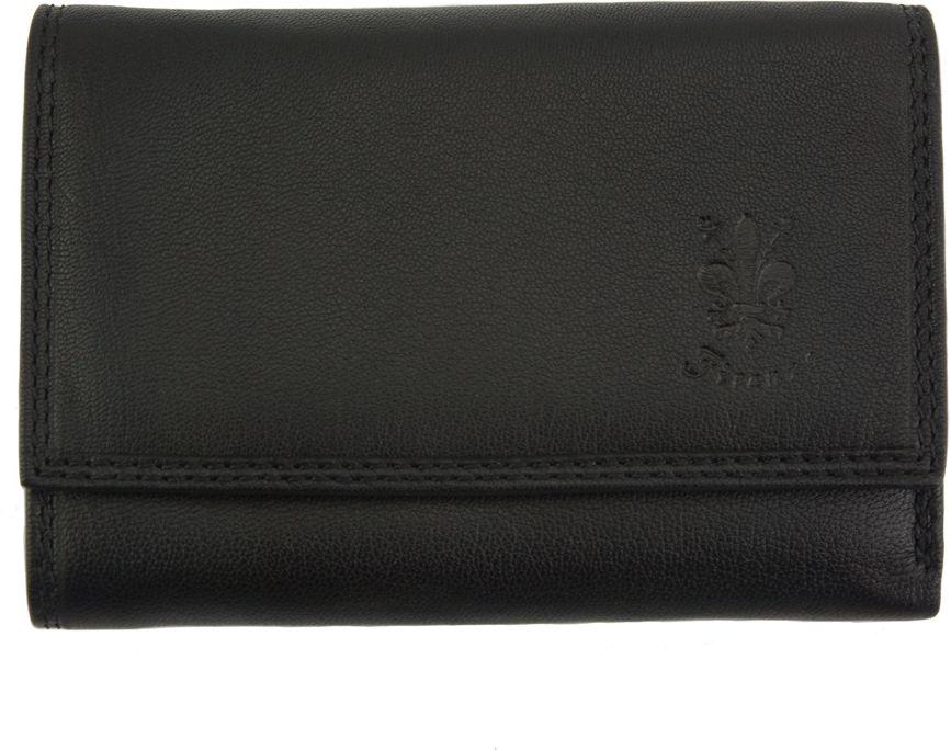 24f2d705d7 Δερμάτινο Πορτοφόλι Marta GM Firenze Leather PF074B Μαύρο