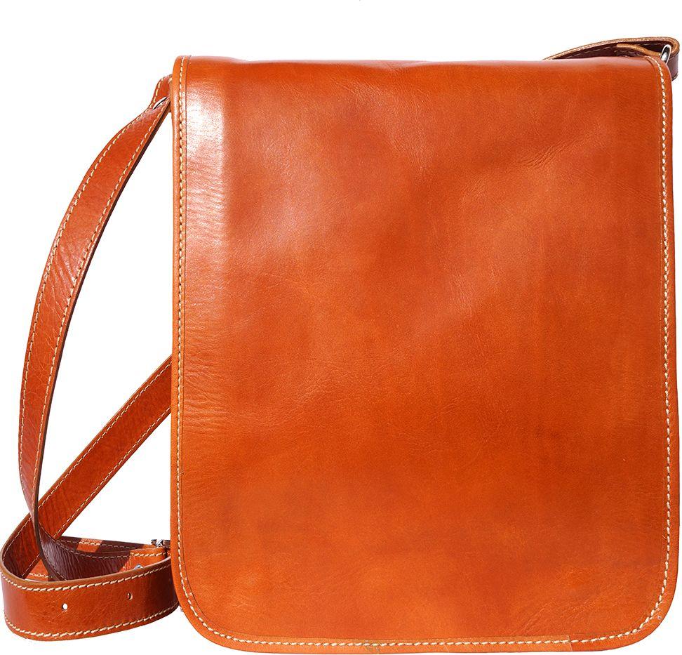 Δερματινη Τσαντα Ωμου Mirko MM Firenze Leather 6516 Μπεζ a5602841139