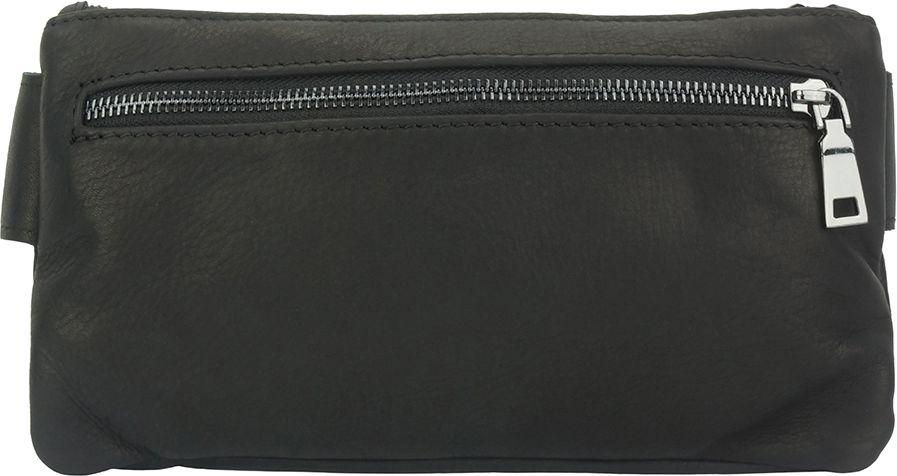 4d7567a461 Δερματινο Τσαντακι Μεσης Vivaldo Firenze Leather 6122 Μαύρο