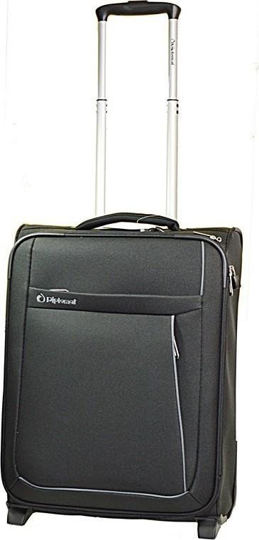 Βαλιτσα Καμπινας Ultra Light Diplomat ZC6045-55 Μαύρο