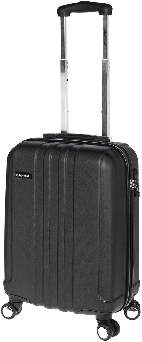 Βαλίτσα Καμπίνας με 4 ρόδες 55cm Diplomat TF1732 Μαύρο