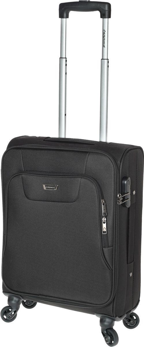 Βαλίτσα Καμπίνας με 4 ρόδες 55 cm Diplomat ZC984-55 Μαύρο