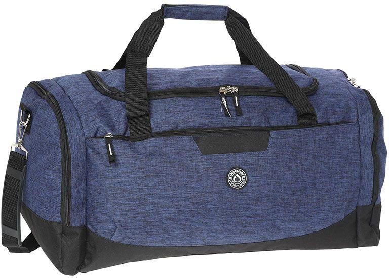 Σακ Βουαγιαζ 50cm με πλαινές θηκες Diplomat SAC60-50 Μπλε/Μαύρο ειδη ταξιδιου   βαλίτσες   σακ βουαγιαζ   σακ βουαγιάζ