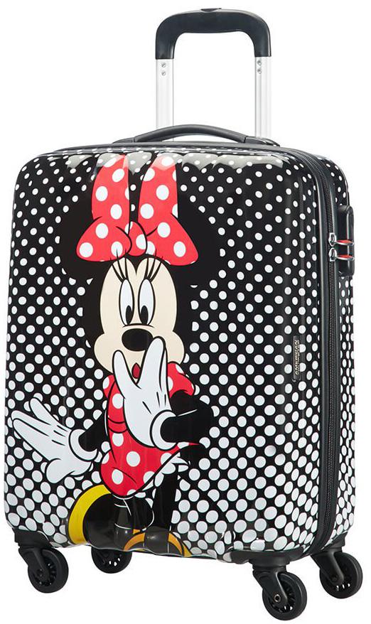Παιδική Χειραποσκευή 55cm με 4 Ρόδες Minnie Mouse Polka Dot American Tourister 9 ειδη ταξιδιου   βαλίτσες   βαλίτσες   παιδικές βαλίτσες