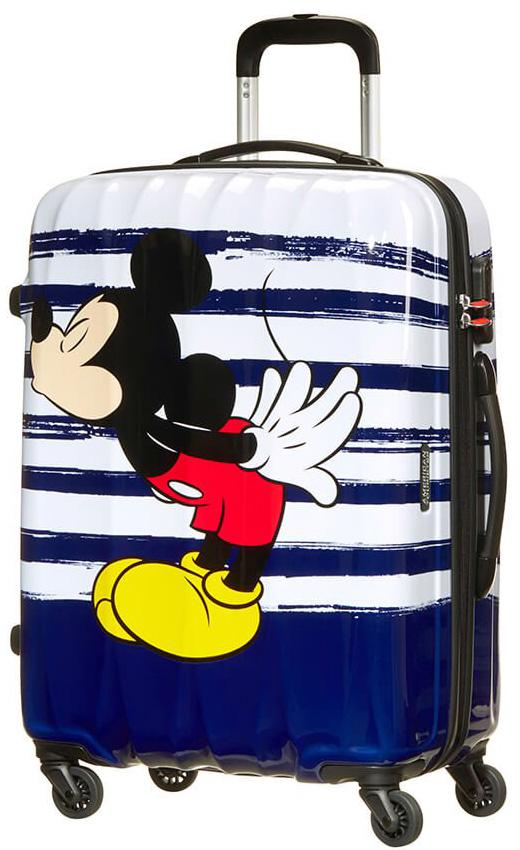Παιδική Βαλίτσα Μεσαία 65cm με 4 Ρόδες Mickey Kiss American Tourister 64479-6975 ειδη ταξιδιου   βαλίτσες   βαλίτσες   παιδικές βαλίτσες