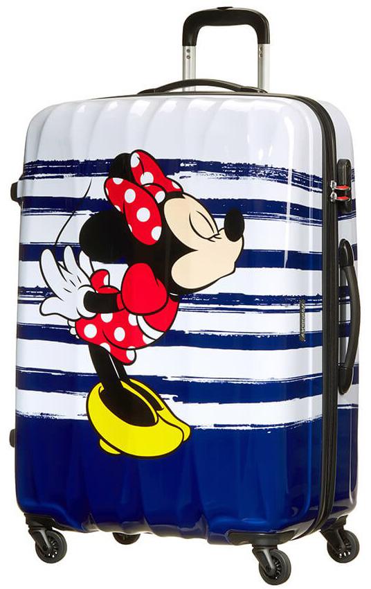 Παιδική Βαλίτσα Μεγάλη 75cm με 4 Ρόδες Minnie Kiss American Tourister 64480-6974 ειδη ταξιδιου   βαλίτσες   βαλίτσες   παιδικές βαλίτσες