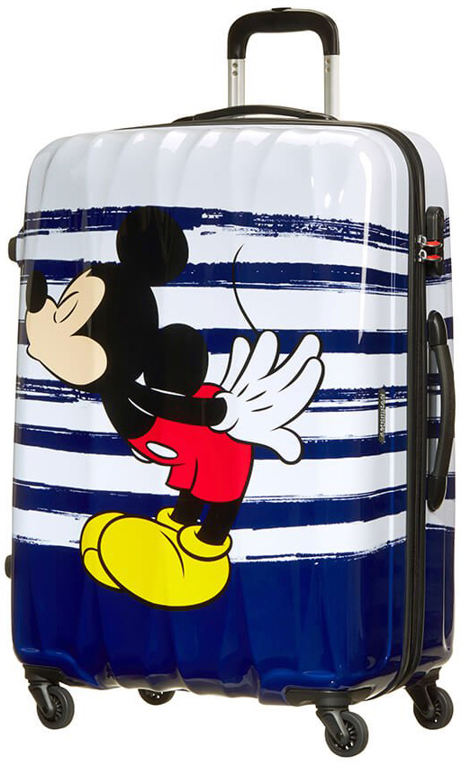 Παιδική Βαλίτσα Μεγάλη 75cm με 4 Ρόδες Mickey Kiss American Tourister 64480-6975 ειδη ταξιδιου   βαλίτσες   βαλίτσες   παιδικές βαλίτσες
