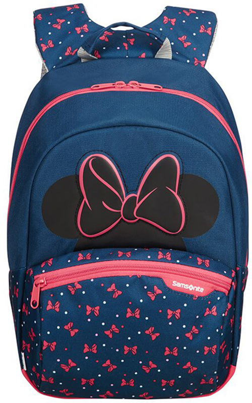 Τσάντα Νηπιαγωγείου Minnie Neon Samsonite 106714-7065 Μπλε/Ροζ παιδί   τσάντες νηπιαγωγείου   για κοριτσάκια