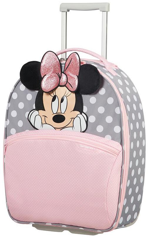 Παιδική Βαλίτσα Καμπίνας 49cm Minnie Glitter Samsonite 106710-7064 Ροζ ειδη ταξιδιου   βαλίτσες   βαλίτσες   παιδικές βαλίτσες