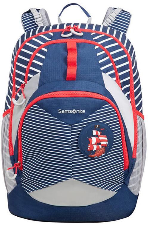 Τσάντα Δημοτικού Pirate Ergofit Samsonite 106378-2094 Μπλε/Γκρι παιδί   τσάντες δημοτικού   για αγορια