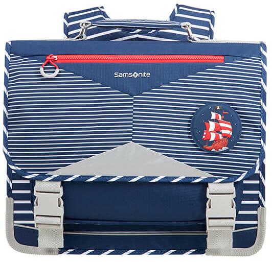 Σχολική Τσάντα Πλάτης Pirate Ergofit Samsonite 106383-2094 Μπλε/Γκρι