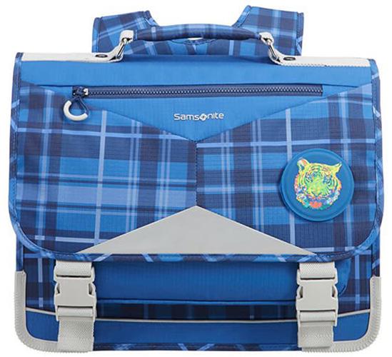 Σχολική Τσάντα Πλάτης Check Tiger Ergofit Samsonite 106383-6965 Μπλε παιδί   τσάντες δημοτικού   για αγορια