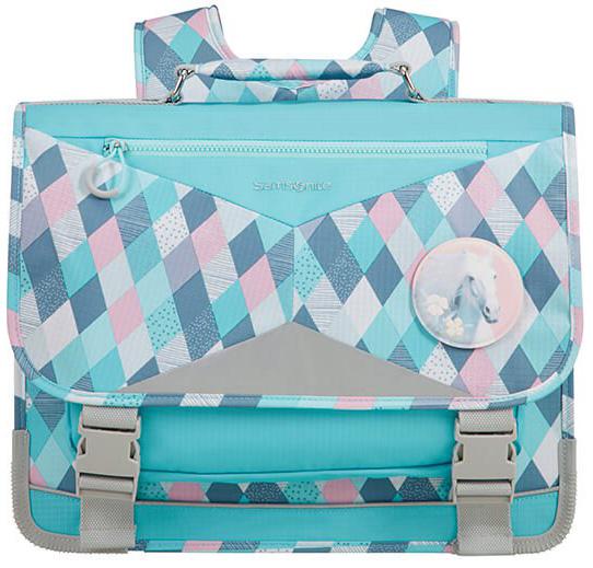 Σχολική Τσάντα Πλάτης Pink Horse Ergofit Samsonite 106383-6967 Γαλάζιο παιδί   τσάντες δημοτικού   για κοριτσια