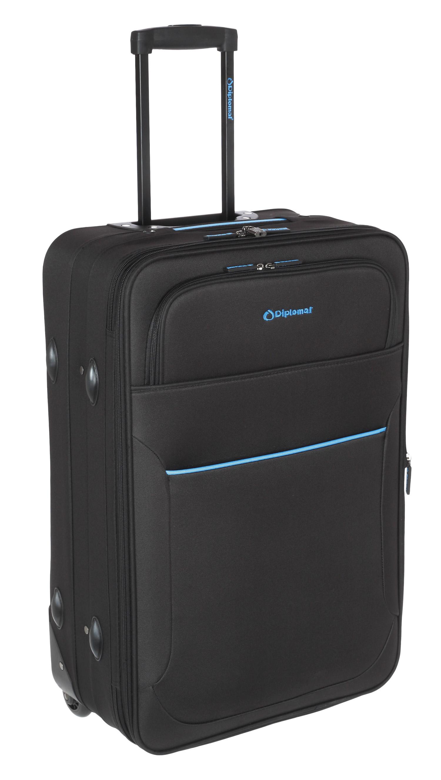 Βαλίτσα τρόλεϊ 61εκ. Diplomat ZC 3001-61 Μαυρο ειδη ταξιδιου   βαλίτσες   βαλίτσες   βαλίτσες μεσαίου μεγέθους