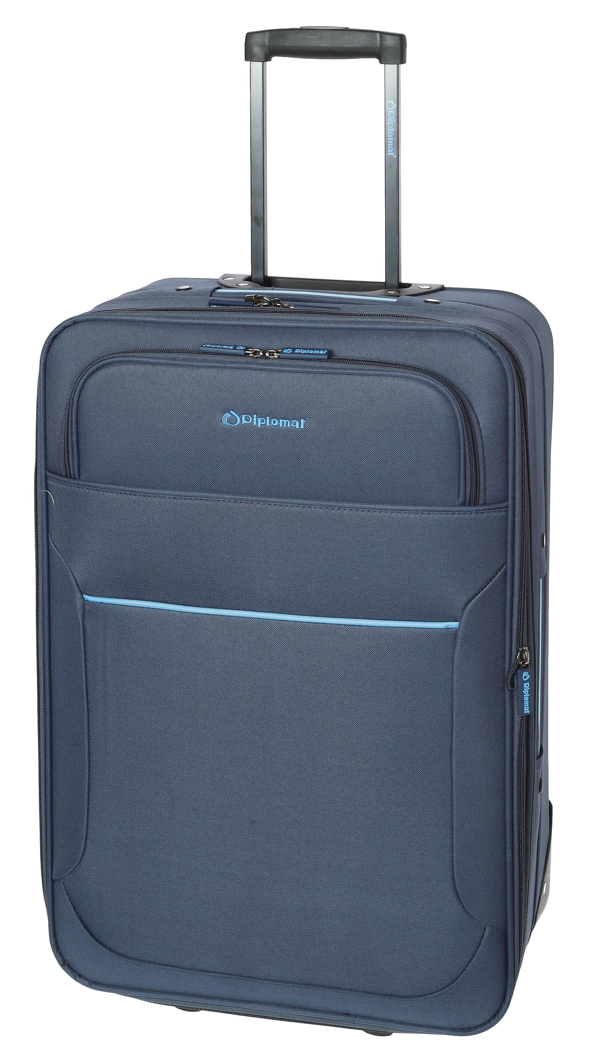 Βαλίτσα τρόλεϊ 61εκ. Diplomat ZC 3001-61 Μπλε ειδη ταξιδιου   βαλίτσες   βαλίτσες   βαλίτσες μεσαίου μεγέθους
