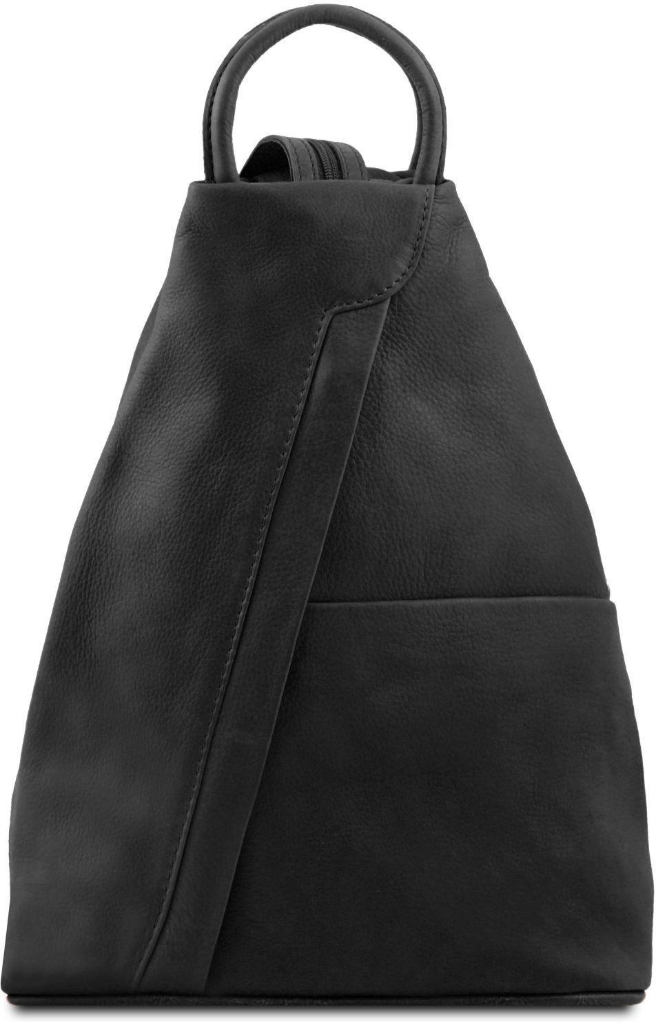1c16f7d414 Γυναικείο Τσαντάκι Δερμάτινο Shanghai Μαύρο Tuscany Leather