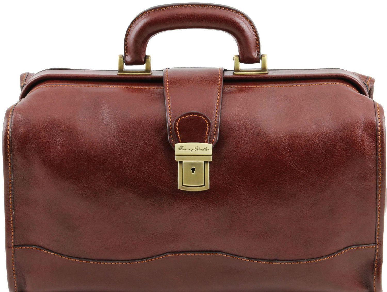 ba3e216ac9 Ιατρική Τσάντα Δερμάτινη Raffaello Καφέ Tuscany Leather