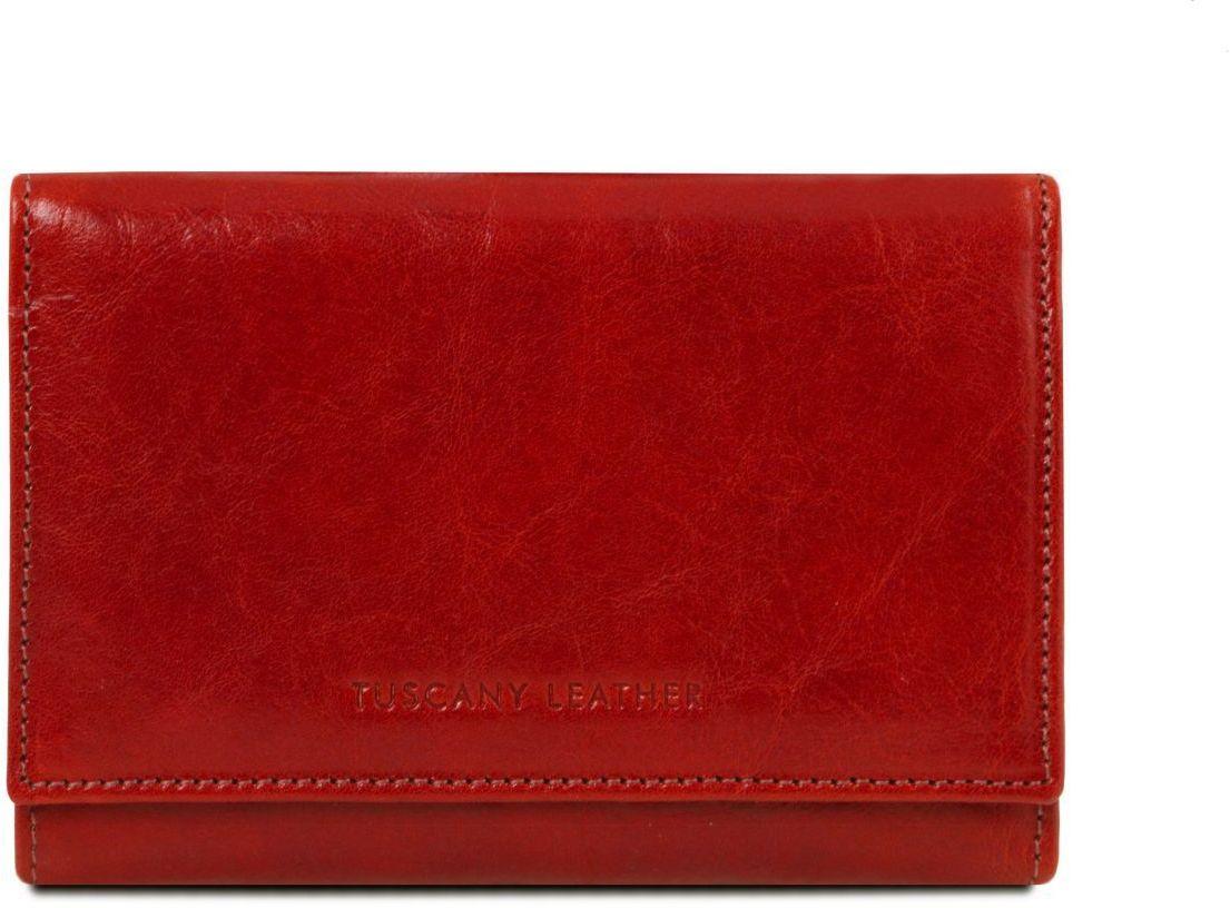 87132de72e Γυναικείο Πορτοφόλι Δερμάτινο TL141314 Κόκκινο Tuscany Leather