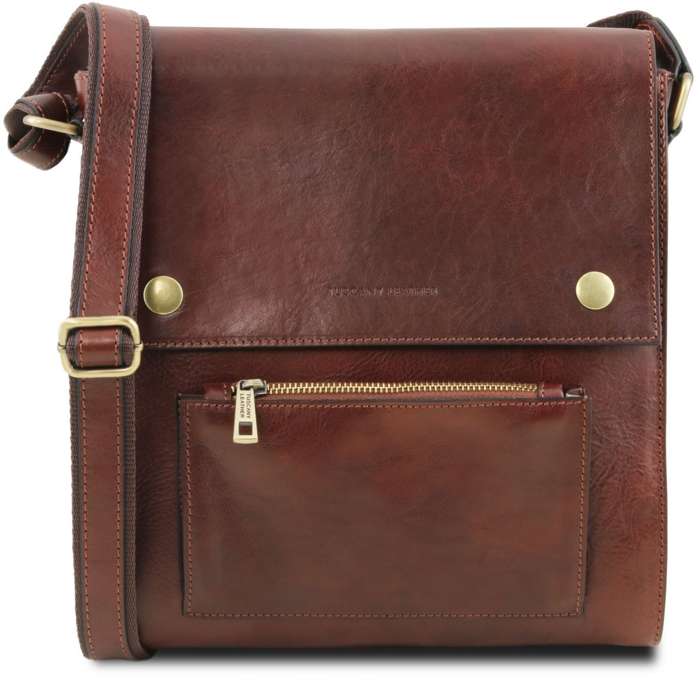 c30cc77103 Ανδρικό Τσαντάκι Δερμάτινο Oliver Καφέ Tuscany Leather