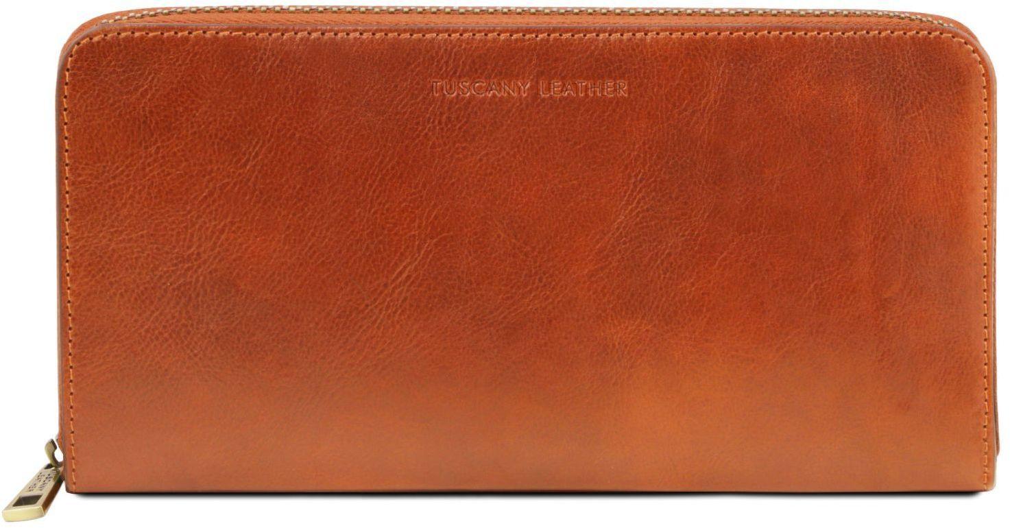 49e08b35df Πορτοφόλι - θήκη εγγράφων - TL141663 Μελί Tuscany Leather