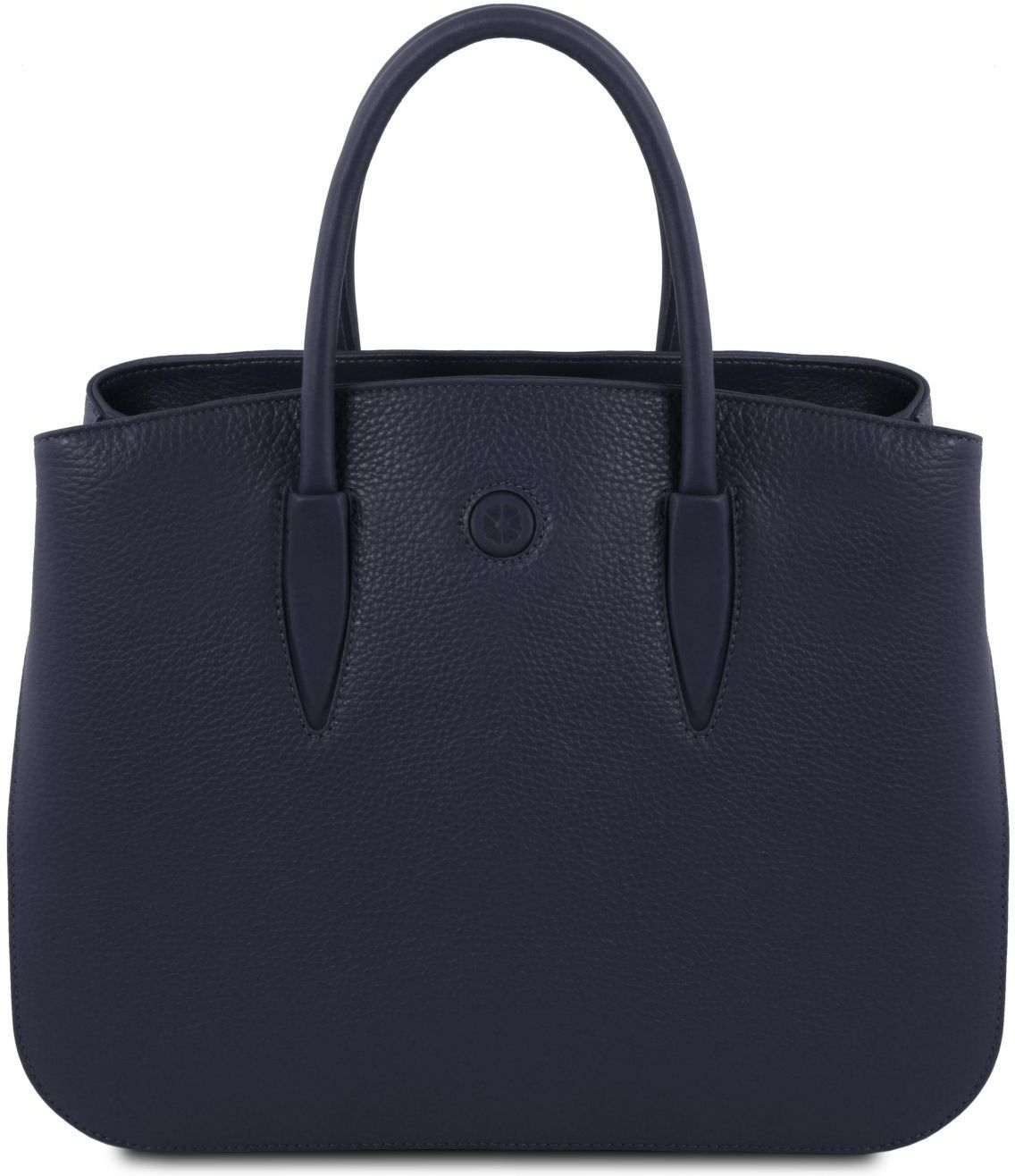 c8f09ba595 Γυναικεία Τσάντα Δερμάτινη Camelia Μπλε σκούρο Tuscany Leather