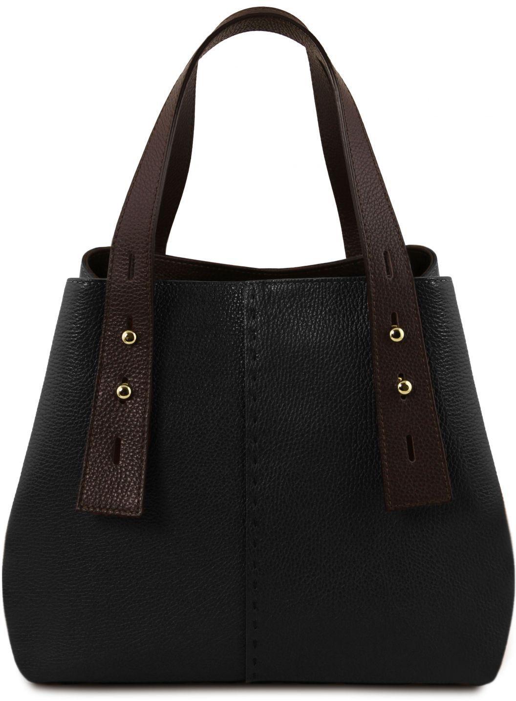 Γυναικεία Τσάντα Δερμάτινη TL Bag TL141730 Μαύρο Tuscany Leather γυναίκα   τσάντες ώμου   χειρός