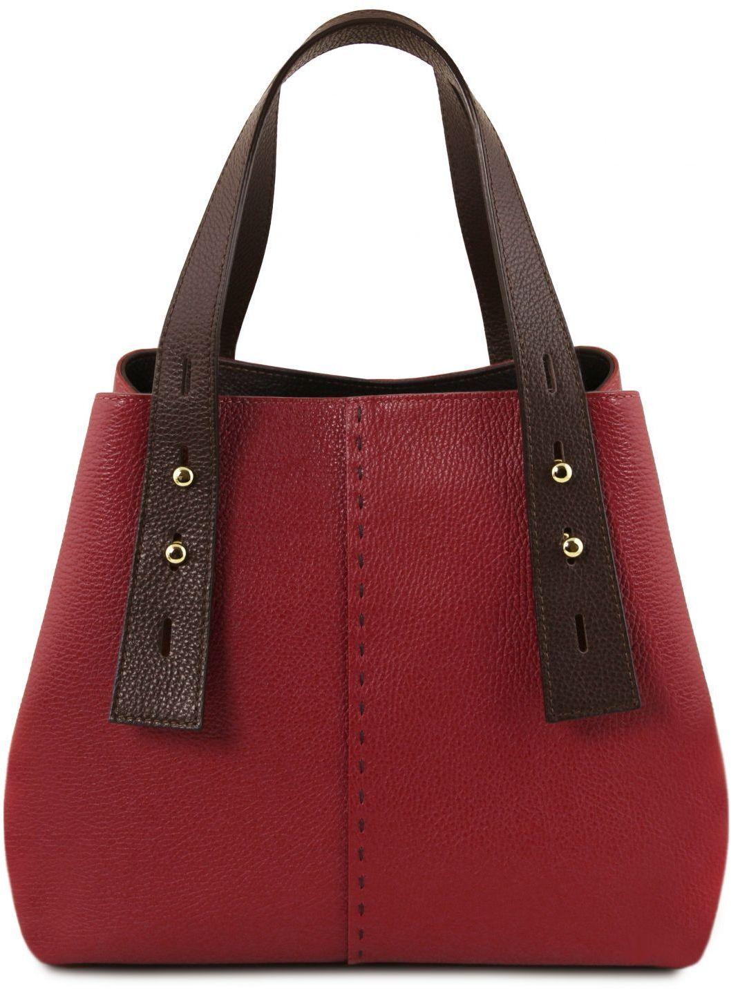 3f98cca2c3 Γυναικεία Τσάντα Δερμάτινη TL Bag TL141730 Κόκκινο Tuscany Leather ...