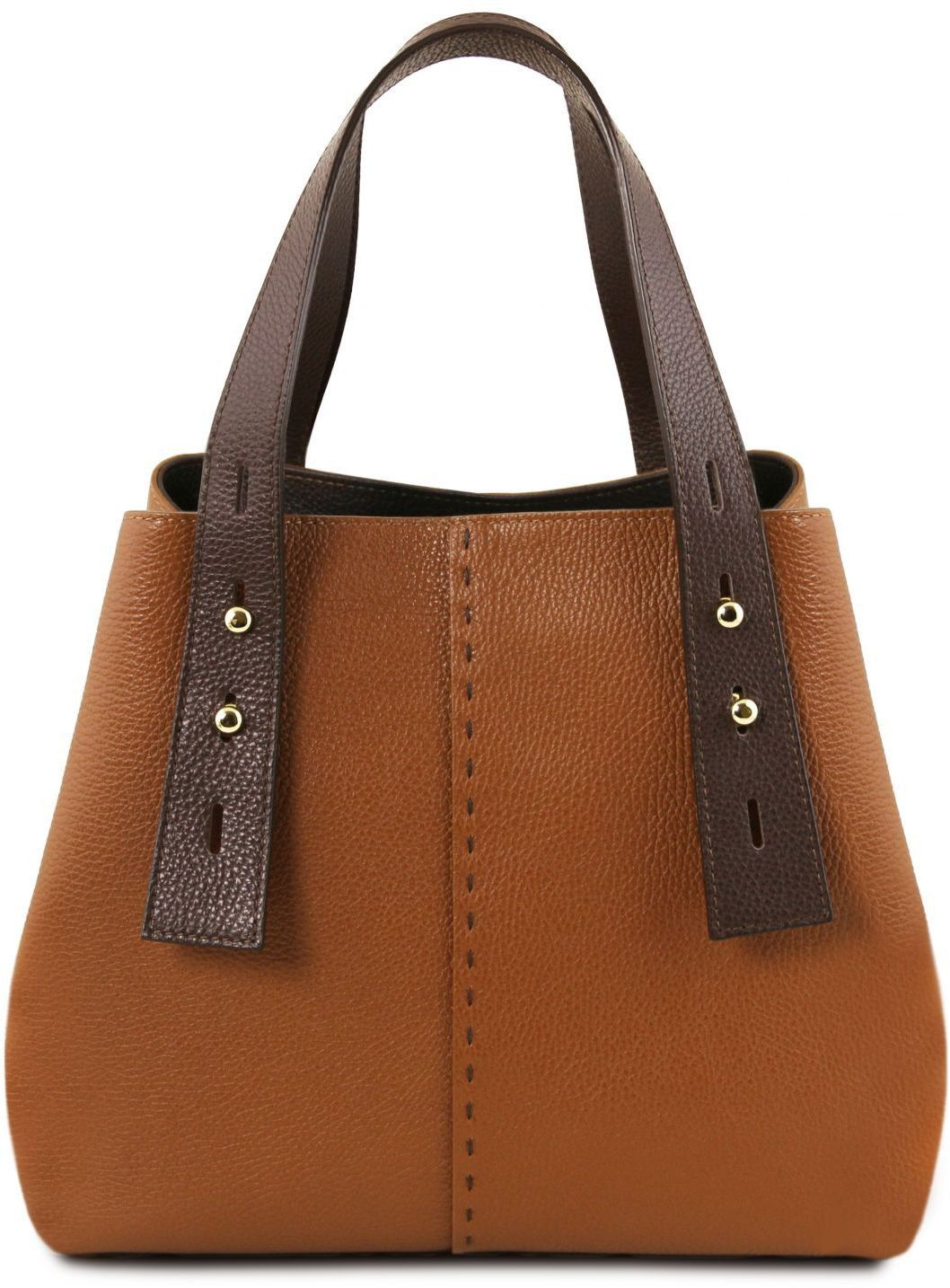 Γυναικεία Τσάντα Δερμάτινη TL Bag TL141730 Κονιάκ Tuscany Leather γυναίκα   τσάντες ώμου   χειρός