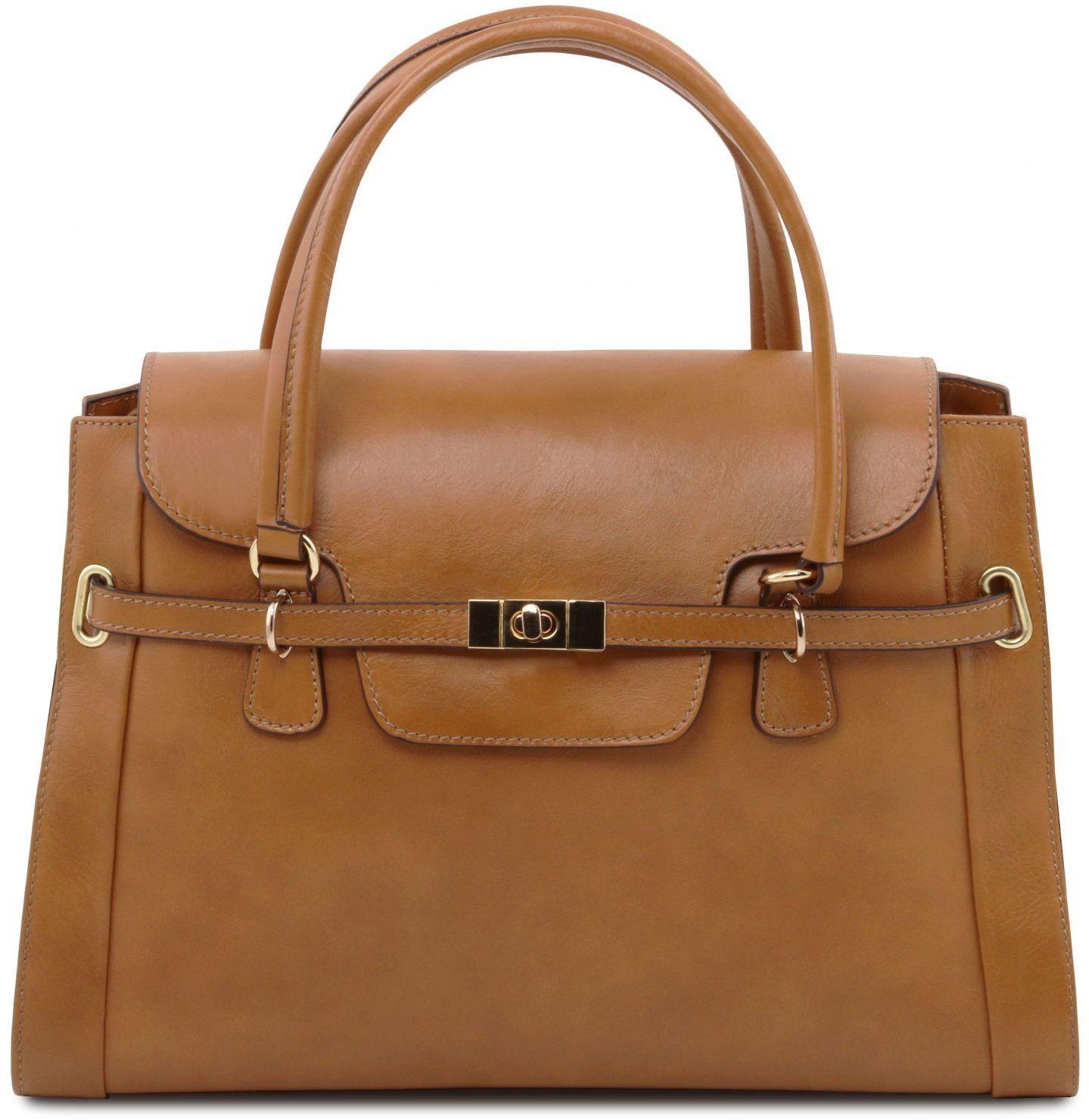 Γυναικεία Τσάντα Δερμάτινη TL NEO Classic Σταχτί σκούρο Tuscany Leather 74c64ab48d7