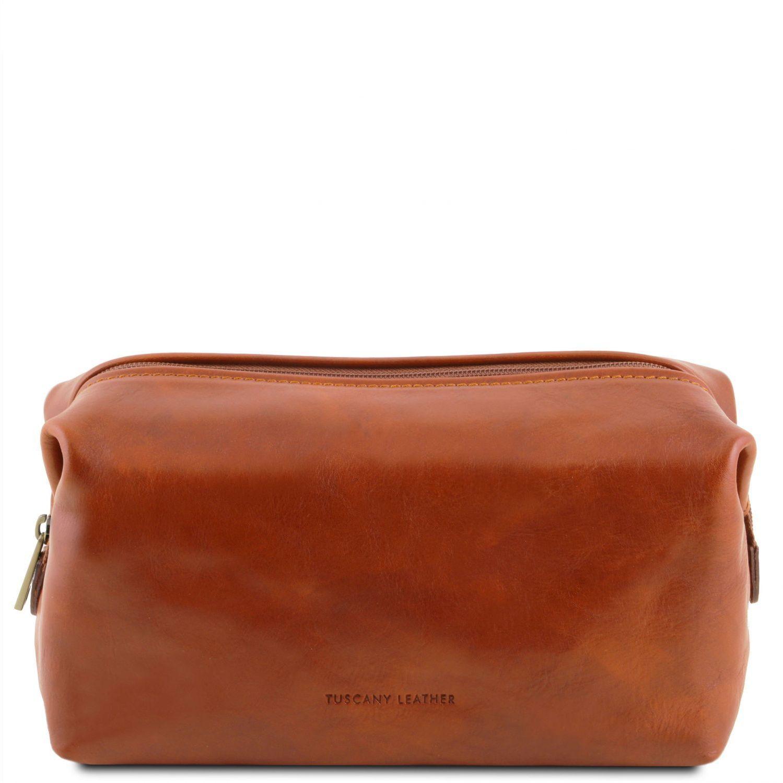 Θήκη – Τσαντάκι Καλλυντικών Δερμάτινο Smarty S Μελί Tuscany Leather