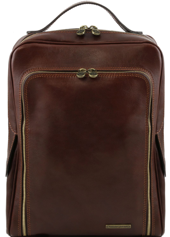 4b8812edf1 Ανδρική Τσάντα Δερμάτινη Πλάτης Bangkok Καφέ σκούρο Tuscany Leather