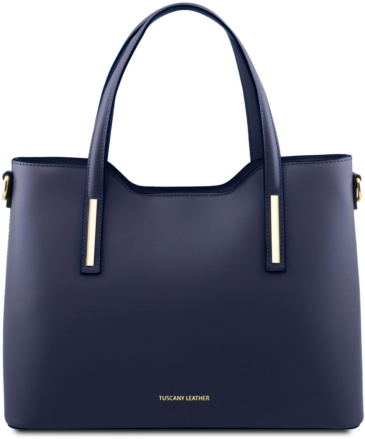 ca95e3b199 Γυναικεία Τσάντα Δερμάτινη Olimpia Μπλε σκούρο Tuscany Leather