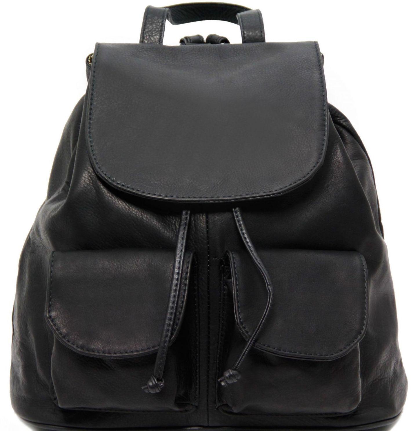 Γυναικεία Τσάντα Δερμάτινη Seoul L Μαύρο Tuscany Leather γυναίκα   τσάντες πλάτης