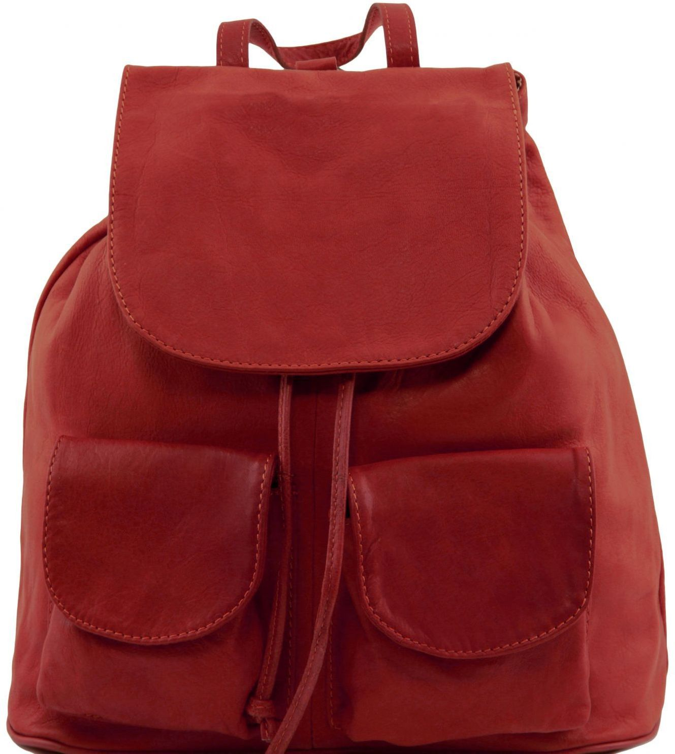 Γυναικεία Τσάντα Δερμάτινη Seoul S Κόκκινο Tuscany Leather γυναίκα   τσάντες πλάτης
