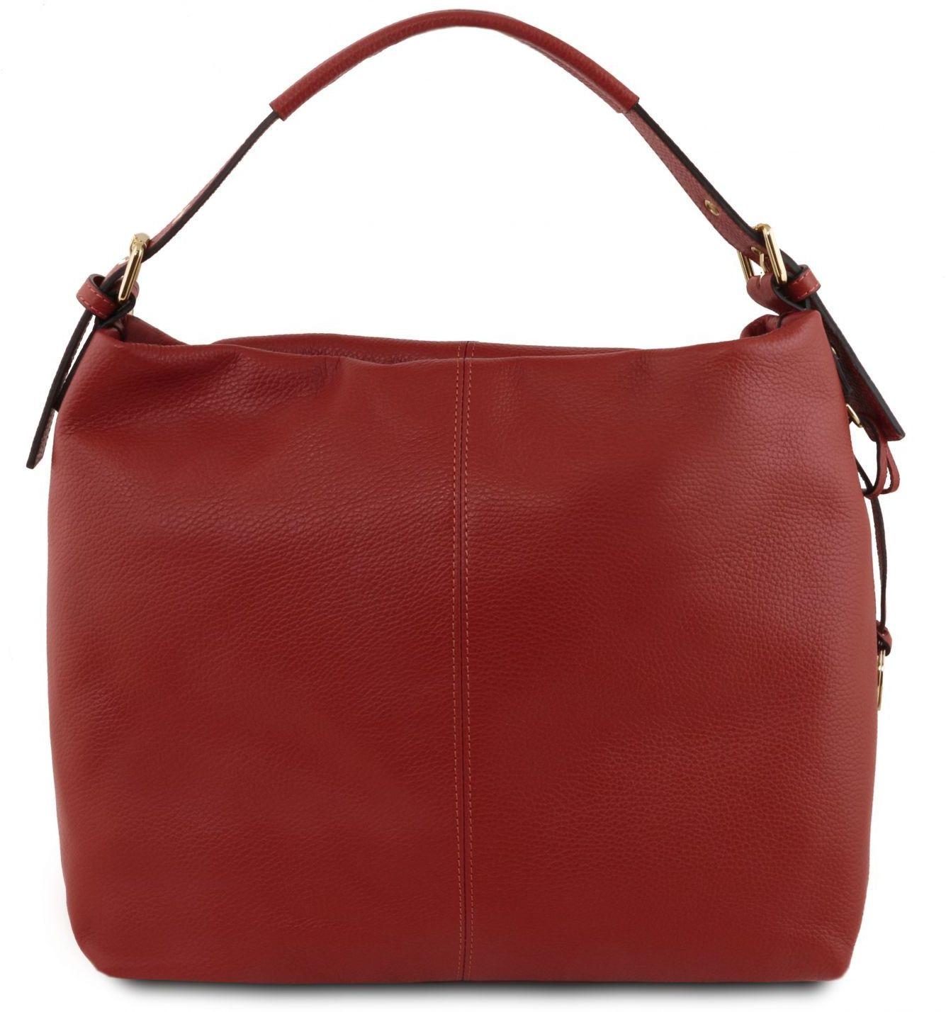 Γυναικεία Τσάντα Δερμάτινη TL Bag TL141719 Κόκκινο Tuscany Leather γυναίκα   τσάντες ώμου   χειρός