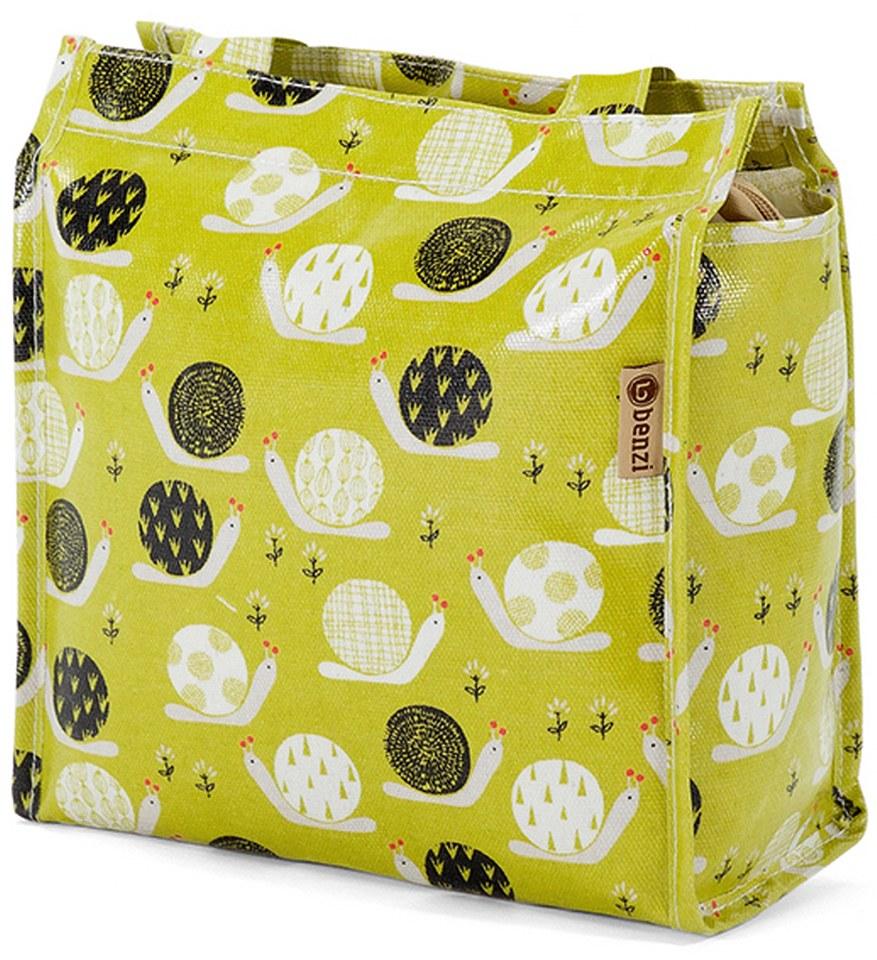 Τσάντα Shopping 32x27x12cm Benzi BZ5282 Λαχανί γυναίκα   shopping bags