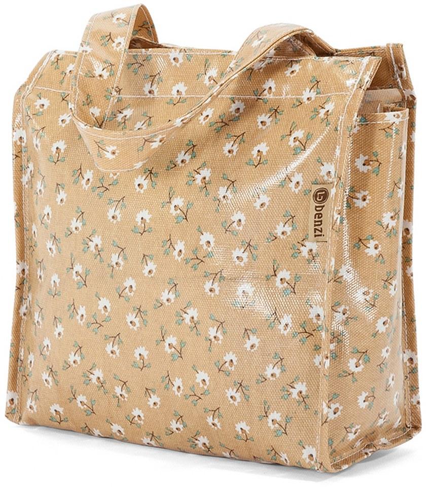 Τσάντα Shopping 23x20x12cm Benzi BZ5396 Μπεζ γυναίκα   shopping bags