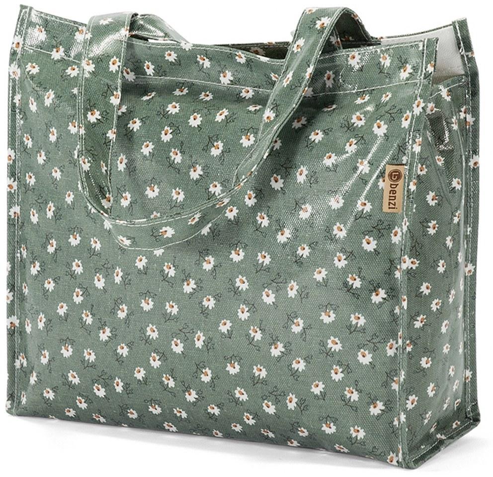 Τσάντα Shopping 32x26x11cm Benzi BZ5397 Πετρόλ γυναίκα   shopping bags