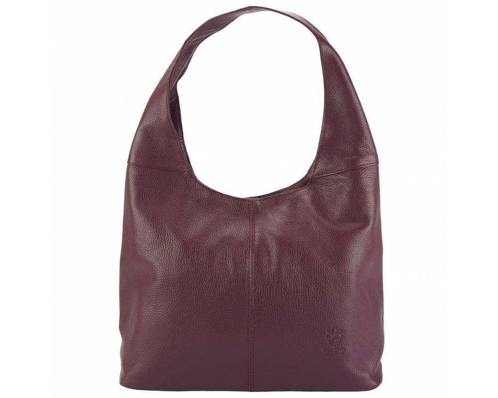 Δερματινη Γυναικεια Τσαντα Ωμου The Caissa Firenze Leather 0834 Μπορντο γυναίκα   τσάντες ώμου   χειρός
