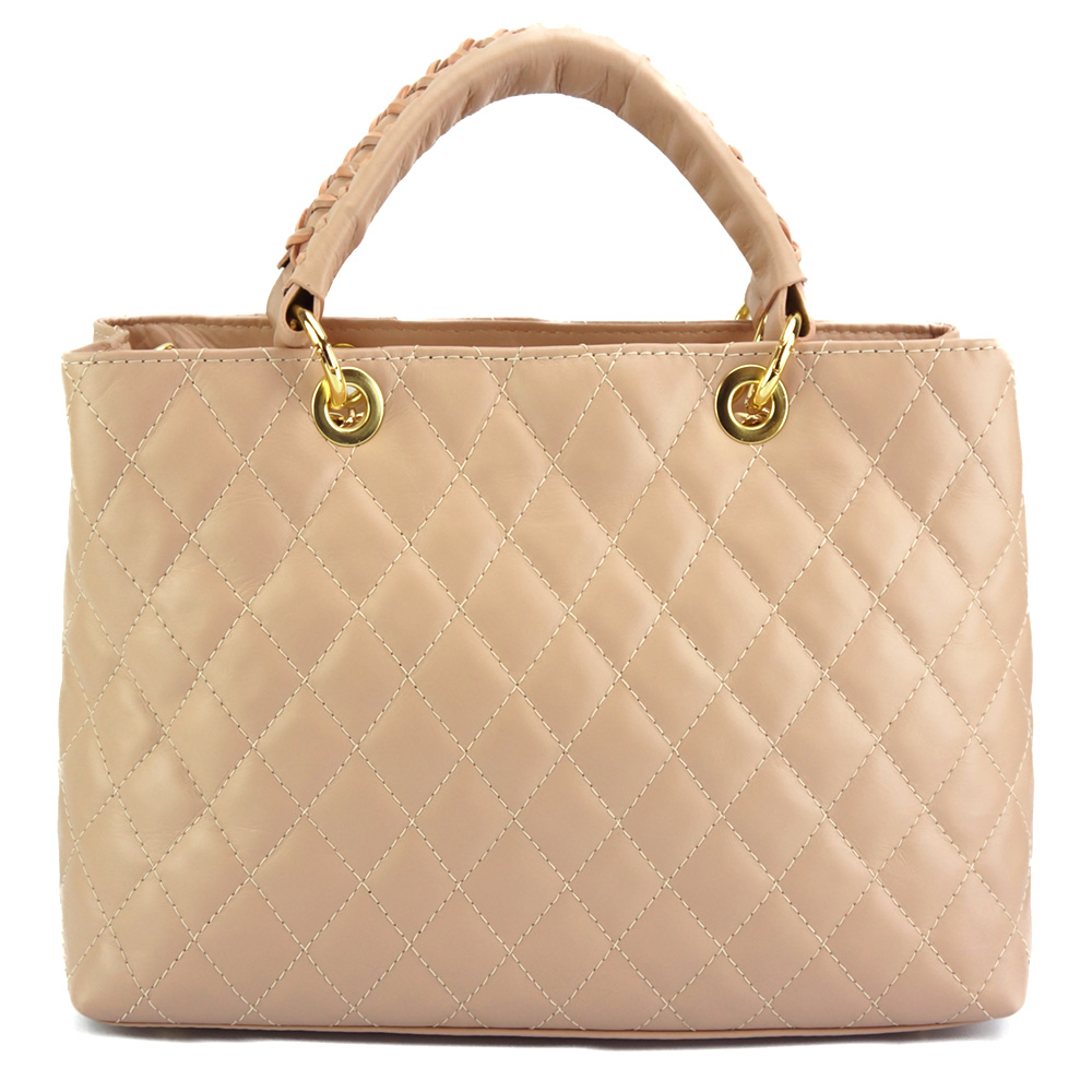 ec79e13c0b Δερμάτινη Τσάντα Ώμου Severa Firenze Leather 7006 Ροζ